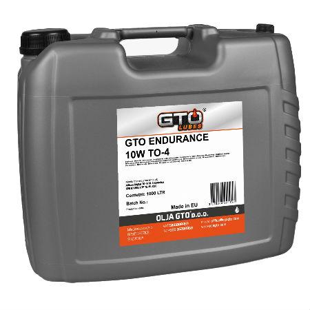 GTO ENDURANCE 10W TO-4